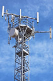 Antenna GSM. Mobile telephony and telecommunication - GSM technology royalty free stock photo