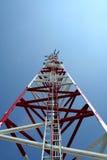 Antenna GSM. In Bogatynia (Poland Royalty Free Stock Image