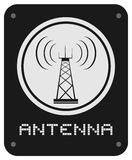 Antenna icon Royalty Free Stock Photo