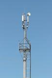 Antenna mobile Fotografie Stock