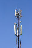 Antenna mobile communication. Royalty Free Stock Photography