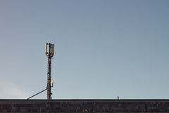Antenna for mobile phones Stock Image