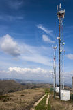 Antenna for mobile phones Stock Photo