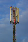 Antenna moderna di comunicazione Fotografia Stock Libera da Diritti