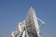 Antenna parabolica Immagine Stock