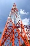 Antenna per la comunicazione Fotografia Stock Libera da Diritti