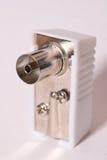 Antenna plug Stock Image