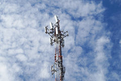 The antenna radio Royalty Free Stock Photography