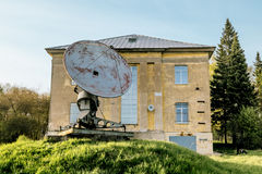 Antenna radio telescope of the Pulkovo Observatory in St. Peters Royalty Free Stock Image
