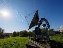 Pulkovo Observatory Stock Photo