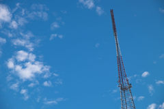 Antenna radiofonica Immagine Stock