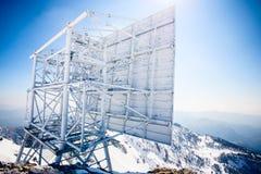 Antenna radiofonica del ripetitore fotografia stock libera da diritti