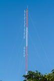 Antenna radiofonica per trasmettere per radio Immagine Stock Libera da Diritti