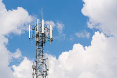 Antenna repeater Stock Photos
