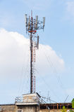 Antenna repeater Royalty Free Stock Image