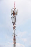 Antenna repeater Stock Image