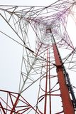 Antenna repeater tower Stock Photos