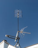Antenna and Satellite dish Royalty Free Stock Image