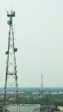 Antenna signal Stock Image