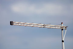 Antenna with sky background Royalty Free Stock Photo
