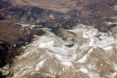 Antenna sopra le montagne rocciose 3 Fotografia Stock Libera da Diritti