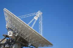 Antenna for space exploration. Stock Photo