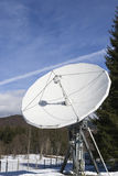 Antenna for space transmissions Stock Image