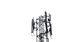 Antenna. The telecommunication antenna isolated mode Royalty Free Stock Photography