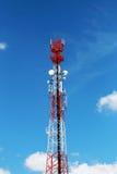 Antenna for Telephone communications.. Stock Photo