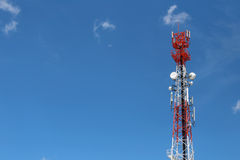 Antenna for Telephone communications.. Stock Images
