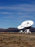 Antenna - telescopio radiofonico 3 di schiera molto grande Fotografie Stock