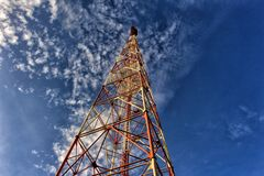 Antenna. Of televition phuket Thailand Royalty Free Stock Photography