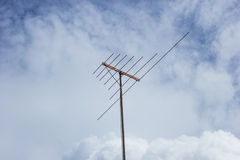 Antenna of Thailand. Antenna television in the sky Royalty Free Stock Image