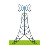 antenna tower broadcast connection Stock Images