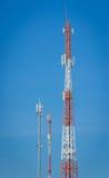 Antenna Tower of Communication Stock Photos