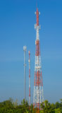 Antenna Tower of Communication Royalty Free Stock Image