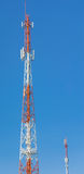 Antenna Tower of Communication Royalty Free Stock Images