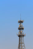 Antenna Tower of Communication Stock Image