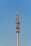 Antenna Tower of Communication Royalty Free Stock Photo