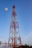 Antenna tower of communication Stock Image