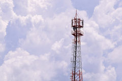 Antenna Tower of Communication Stock Photography