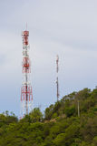 Antenna tower. This photo are antenna tower taken at Larn island Pattaya Thailand Stock Images