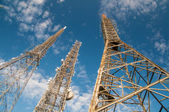 Antenna Towers Stock Images