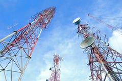 Antenna TV Fotografia Stock