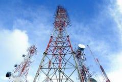 Antenna TV Fotografie Stock
