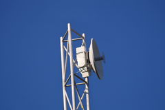 Antenna. Uni-directional antenna for high-speed data  on the mast Royalty Free Stock Image