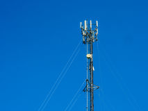 Antenna for use communicate. Royalty Free Stock Image