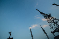Antenna View Above Stock Image