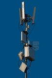 Antennas. Wireless technology - mobile cellural  People contact business Royalty Free Stock Photography