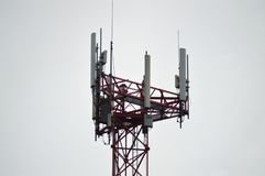 Antennas, Cell, Tower Royalty Free Stock Image